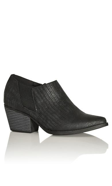 Plus Size Karina Shootie - black