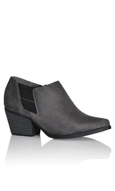 Plus Size Karina Shootie - grey