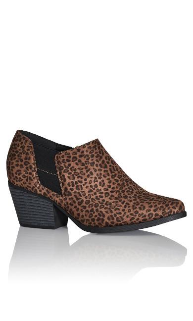 Plus Size Karina Shootie - leopard