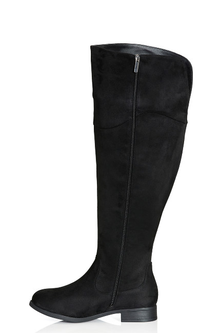 Nadia Tall Boot - black