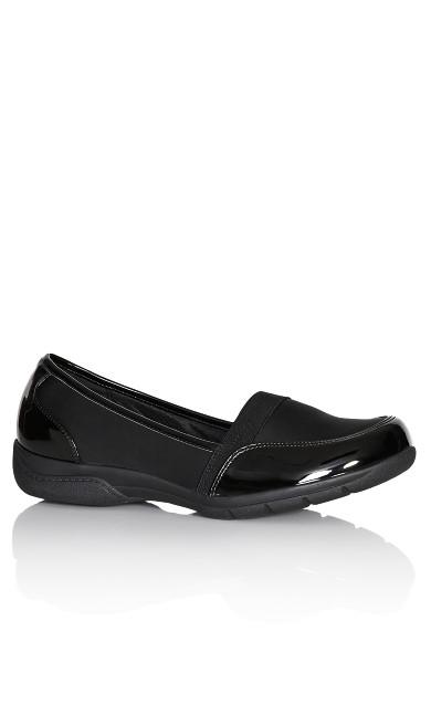 Plus Size Phoebe Shoe - black
