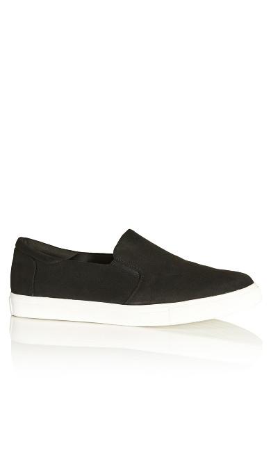 Plus Size Athens Sneaker - black