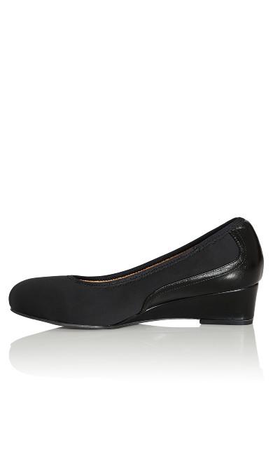 Hattie Wedge Shoe - black