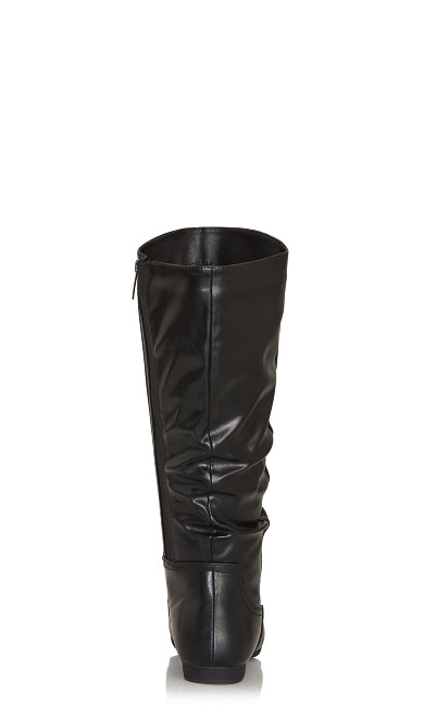 Everly Tall Boot - black