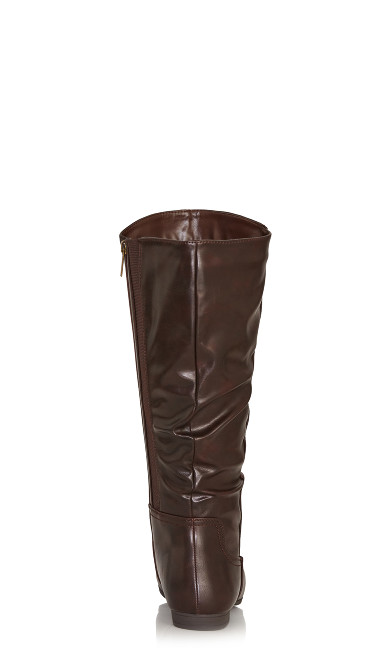 Everly Tall Boot - brown
