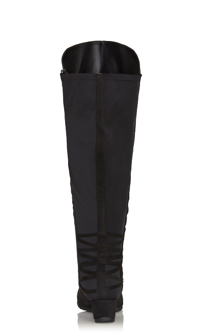 Aria Tall Boot - black