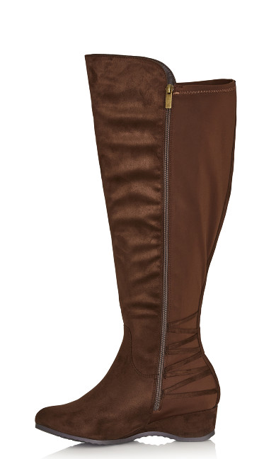 Aria Tall Boot - brown
