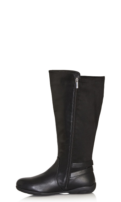 Maria Tall Boot - black