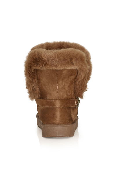 Pippa Hug Boot - cognac