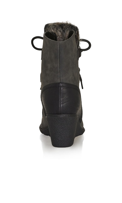 Emerson Wedge Ankle Boot - black