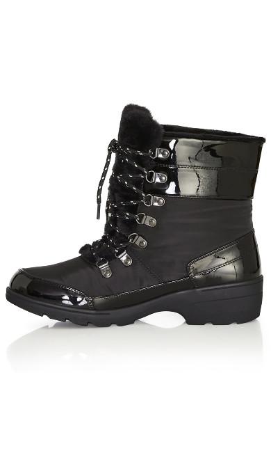 Belinda Cold Weather Boot - black