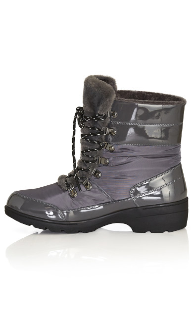Belinda Cold Weather Boot - gray