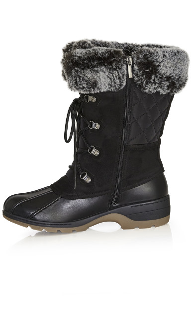 Gwenn Cold Weather Boot - black