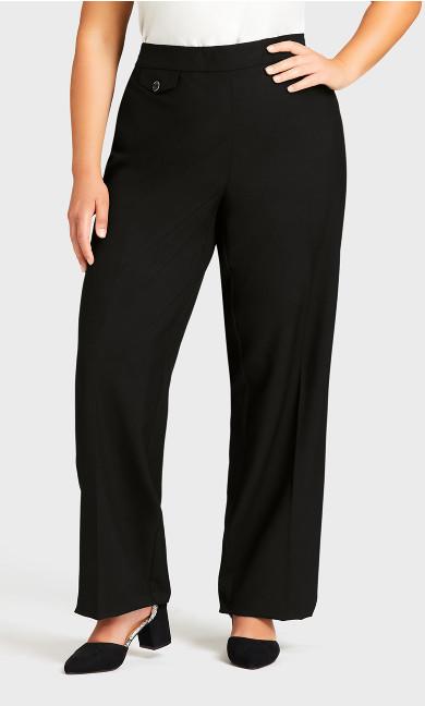 Cool Hand Curvy Pant Black - average