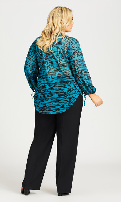 Cool Hand Curvy Pant Black - tall