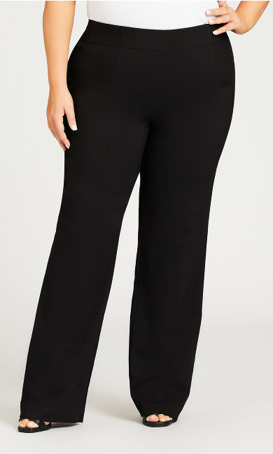 Super Stretch Bootcut Pant Black - tall