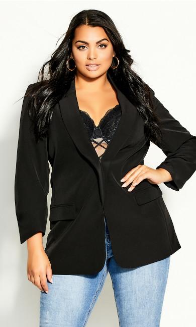 So Sassy Jacket - black