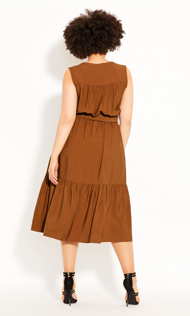 Next Level Dress - copper