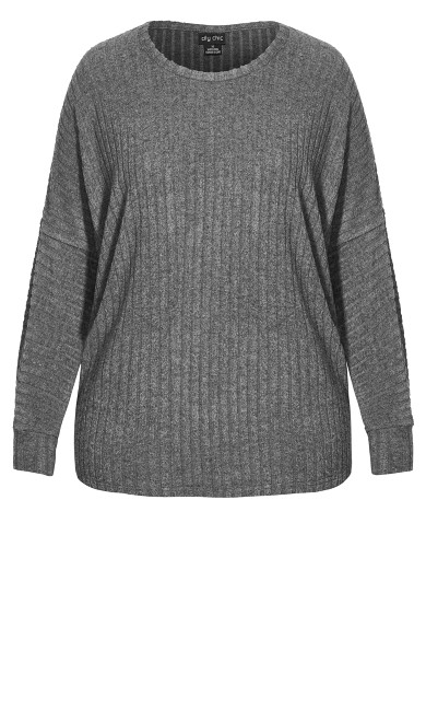 Ella Top - grey