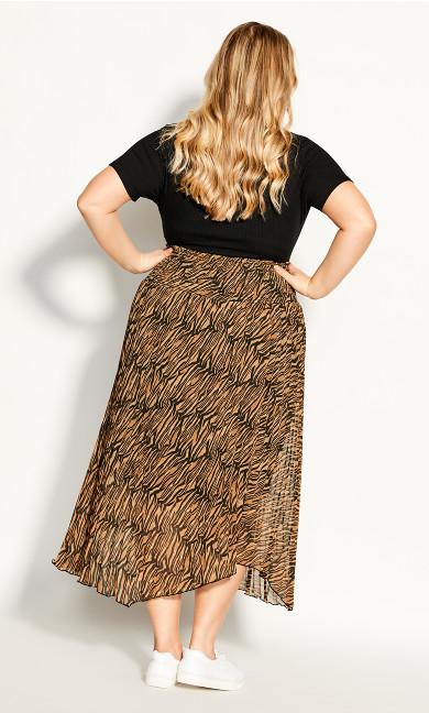 Bengal Skirt - tiger print