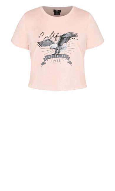 Cali Paradise Tee - ballet pink