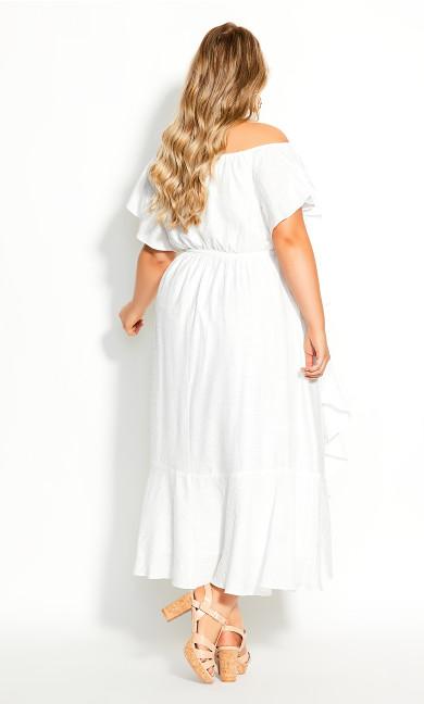 Inspiration Maxi Dress - ivory