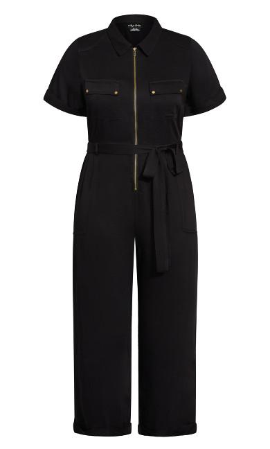 Boiler Suit Jumpsuit - black