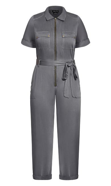 Boiler Suit Jumpsuit - slate