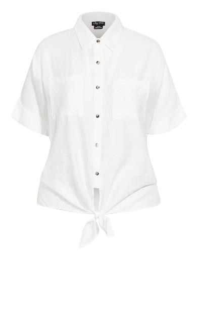 Laid Back Shirt - ivory