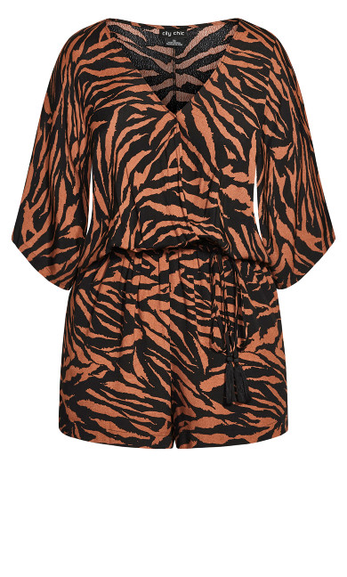 Cancun Tiger Playsuit - tiger
