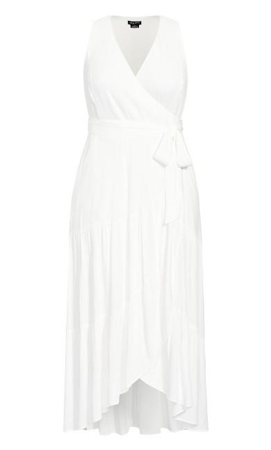 Sunset Maxi Dress - ivory