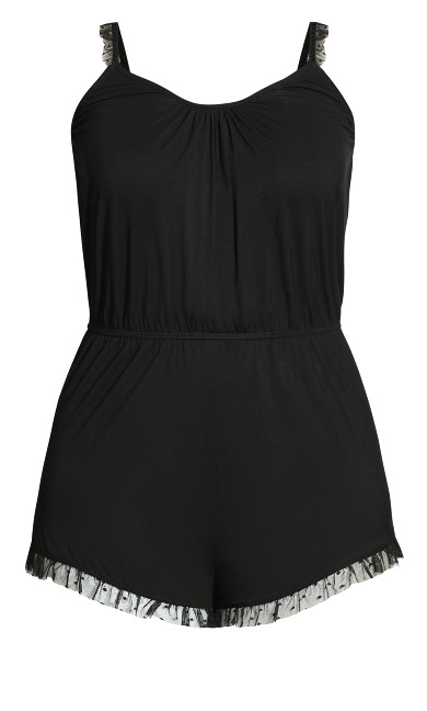 Ava Playsuit - black
