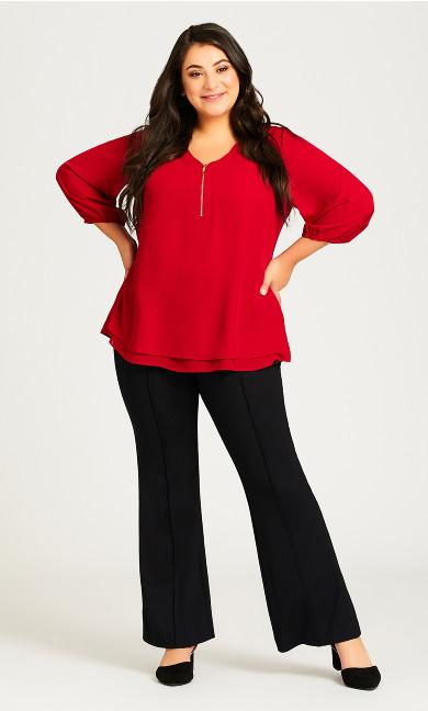 Plus Size Avery Pant - black
