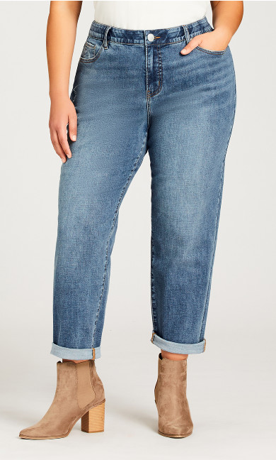 Bailey Girlfriend Jean Light Wash - average