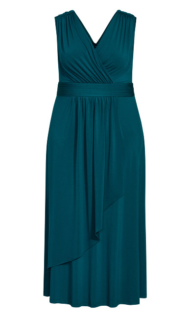 Madeline Maxi Dress - teal
