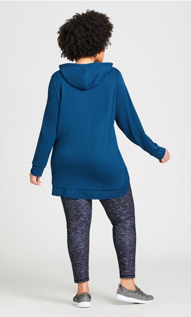 Legging Spacedye Blue - average