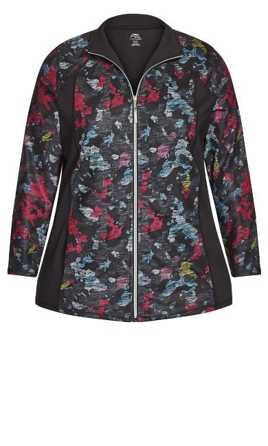Multi Camo Jacket - pink