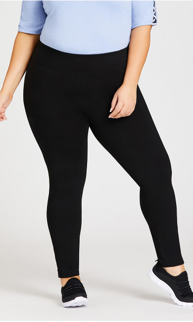 Legging Mesh Black - average