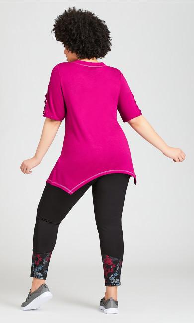 Multi Camo Pant - pink