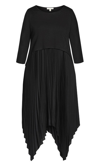 Kimi Duet Dress - black