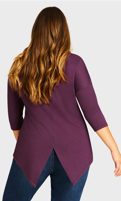 Tammy Top - plum