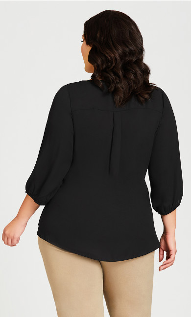 Meila Zip Top - black