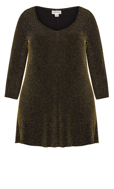 Gracie Tunic - gold