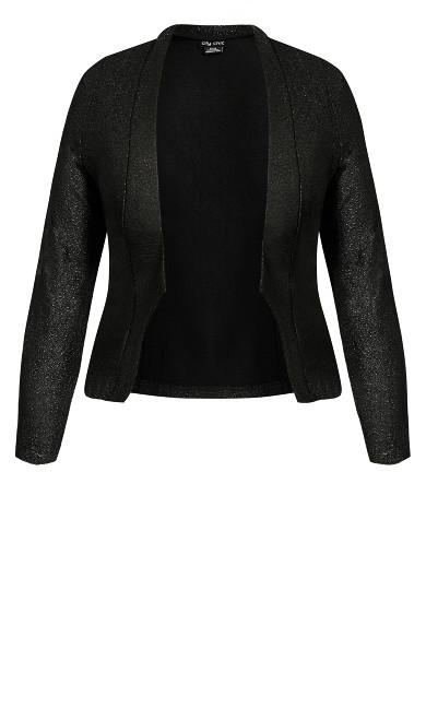 Shining Light Jacket - black