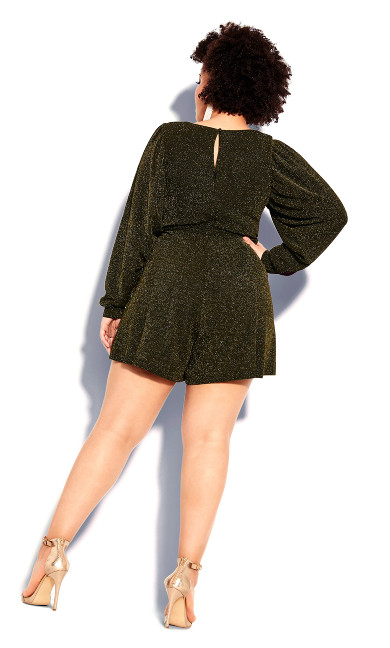 Celebration Playsuit - bronze