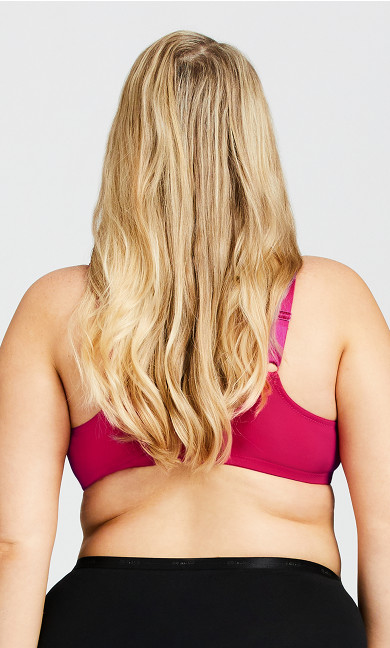 Smooth Caress Fashion Bra - jewel pink