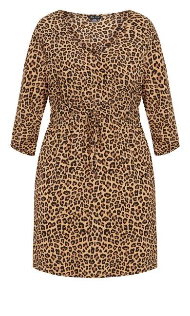 Cheetah Tunic - cheetah