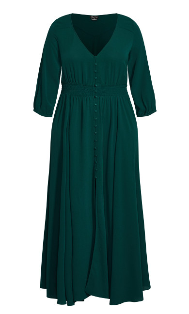 Desire Maxi Dress - sea green