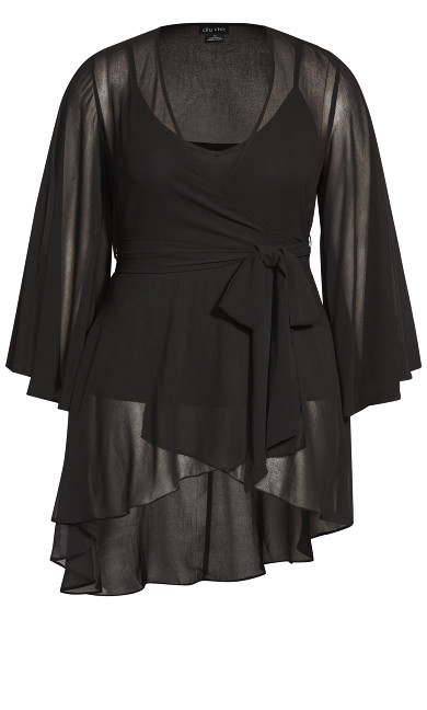 Fleetwood Tunic - black