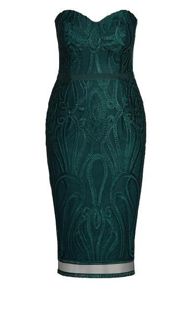 Antonia Dress - emerald